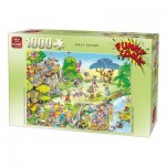 Puzzle  King-Puzzle-05223 Robert Crisp - Golf Safari