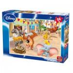 Puzzle  King-Puzzle-05240-B Der König der Löwen & Dschunglebuch & Dumbo