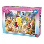 Puzzle  King-Puzzle-05242-B Schneewittchen