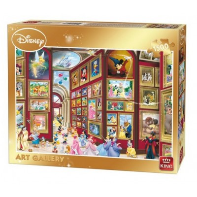Puzzle King-Puzzle-05263 Disney - Art Gallery