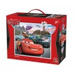 King-Puzzle-05270 Riesen-Bodenpuzzle - Cars