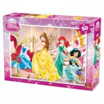 Puzzle  King-Puzzle-05280-B Disney Prinzessinnen