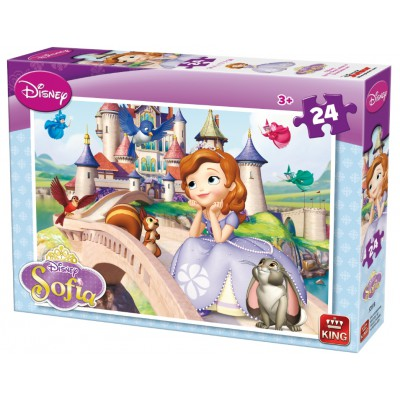 Puzzle King-Puzzle-05281-B Sofia the First