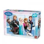 Puzzle  King-Puzzle-05293-A Frozen - Die Eiskönigin