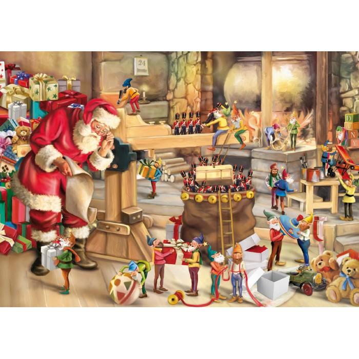 Die Werkstatt des Weihnachtsmannes