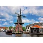 Puzzle  King-Puzzle-05353 Spaarne River Haarlem - Die Niederlande