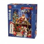 Puzzle  King-Puzzle-05360 Die Werkstatt des Weihnachtsmanns