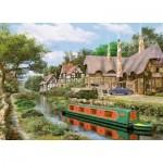 Puzzle  King-Puzzle-05364 Dominic Davison: Cottage am Kanal
