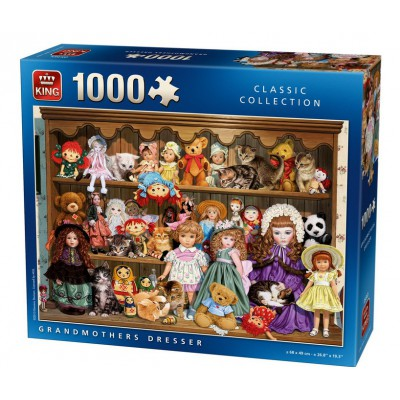 Puzzle King-Puzzle-05365 Großmutters Kommode
