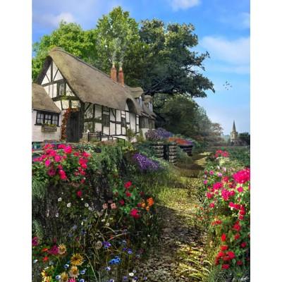 Puzzle King-Puzzle-05368 Dominic Davison: Wisteria Cottage