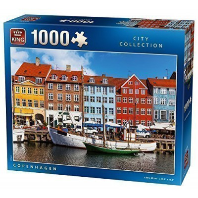 Puzzle King-Puzzle-05370 Kopenhagen