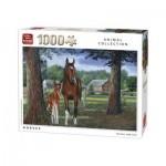 Puzzle  King-Puzzle-05386 Pferde