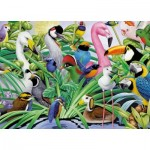 Puzzle  King-Puzzle-05483 Magic Birds
