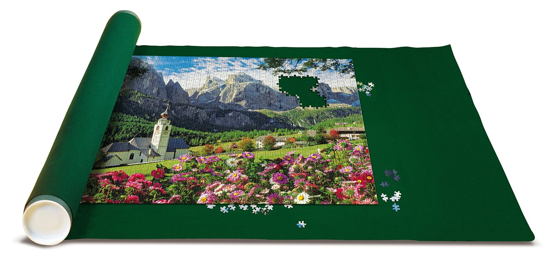 PuzzleTeppich für Puzzle mit 300 bis 1000 Teilen + Die