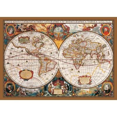 Puzzle KS-Games-11204 Weltkarte aus dem 17. Jahrhundert