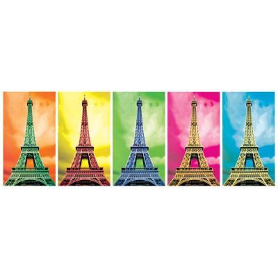 Puzzle KS-Games-11223 Pop Art: Eiffelturm