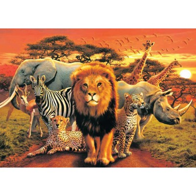 Puzzle KS-Games-11238 African Kingdom