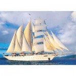 Puzzle  KS-Games-11245 Tall Ship under Sail