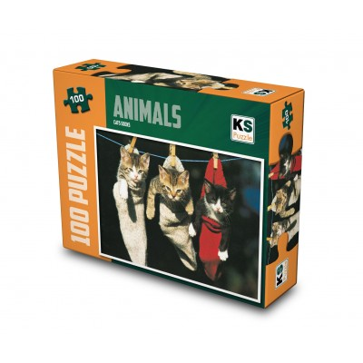 Puzzle KS-Games-11248 Cats Socks