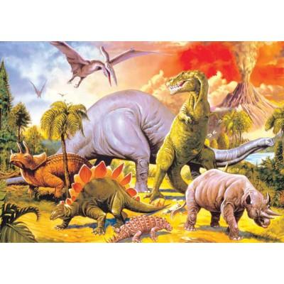 Puzzle KS-Games-11249 Dinosaurier
