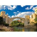 Puzzle  KS-Games-11304 Alte Brücke von Mostar, Bosnien-Herzegowina
