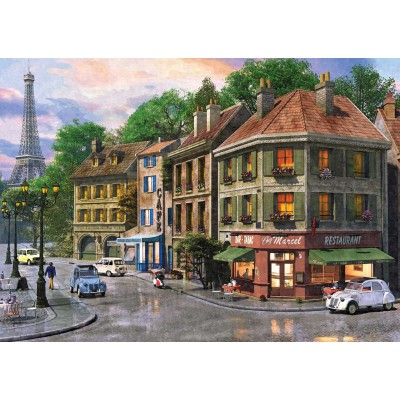 Puzzle KS-Games-11307 Dominic Davison: Rue de Paris