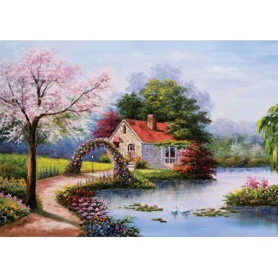 Puzzle KS-Games-11324 Das Haus am See