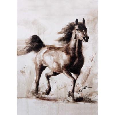 Puzzle KS-Games-11342 Robert Bonomo - Das Pferd