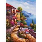 Puzzle  KS-Games-11345 Treppe zur Villa