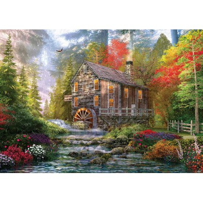 Puzzle KS-Games-11356 Dominic Davison: Die alte Holzmühle