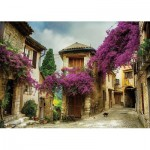 Puzzle  KS-Games-11375 Brigitte Peyton: Flowered Village