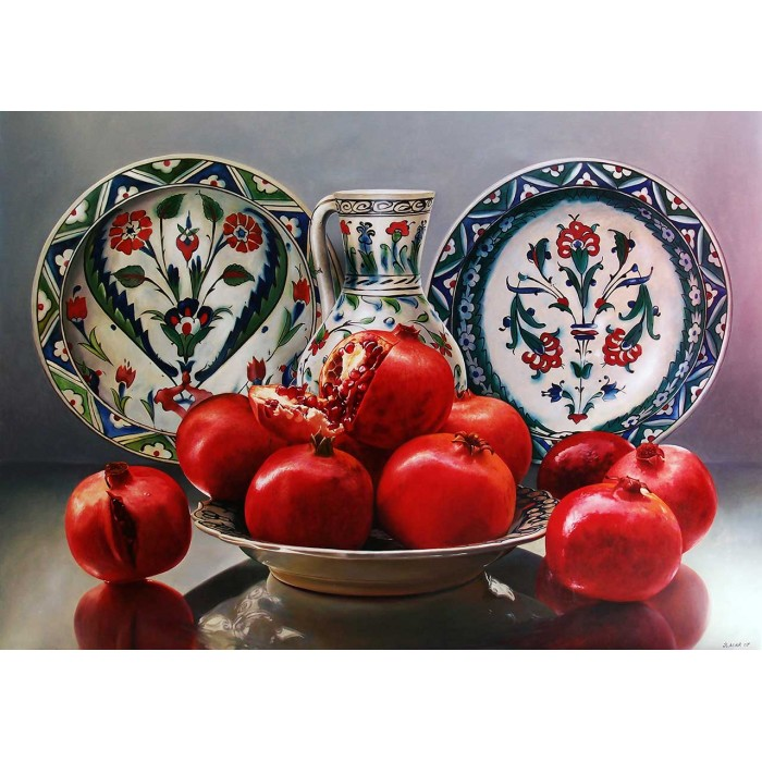 Porcelain and Pomegranates
