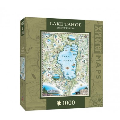 Xplorer Maps - Lake Tahoe - 1000 Teile - MASTER PIECES Puzzle online ...