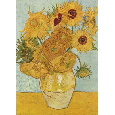 Magnetische Teile Vincent Van Gogh Stilleben Mit 12 Sonnenblumen