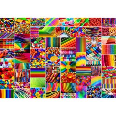 Collage Farben 100 Teile Grafika Kids Puzzle Online Kaufen