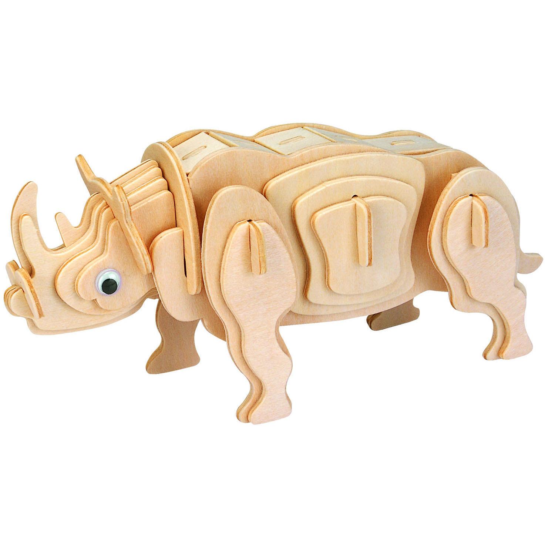 3D Puzzle aus Holz - Rodney