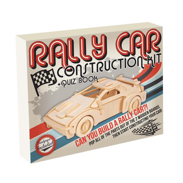 3D Puzzle aus Holz - Auto