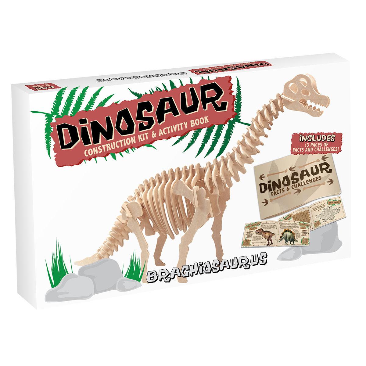 3D Puzzle aus Holz - Brachiosaurus