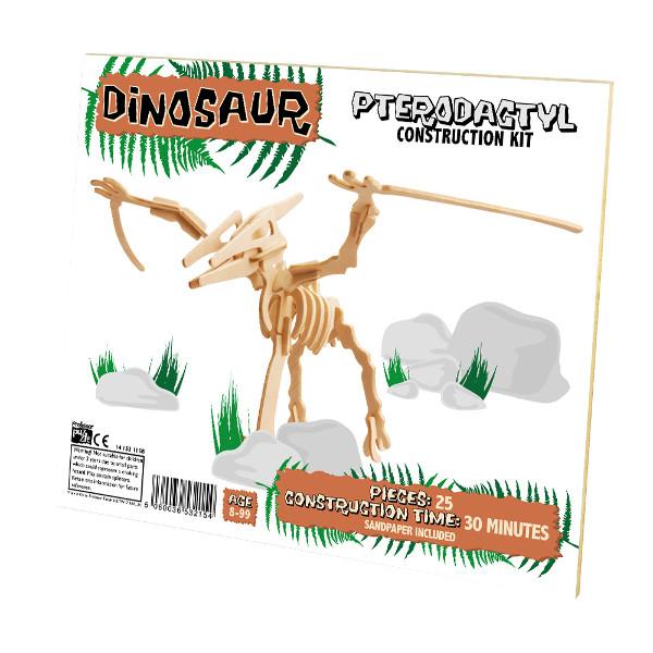 3D Puzzle aus Holz - Pterodactylus