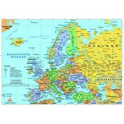 Europakarte 99 Teile Puzzelman Puzzle Online Kaufen