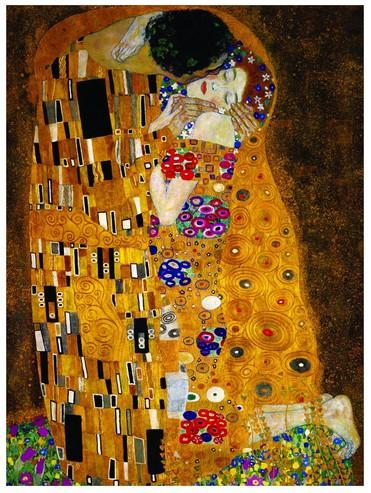 ravensburger 15743 klimt der kuss 1000 teile puzzle vos. Black Bedroom Furniture Sets. Home Design Ideas