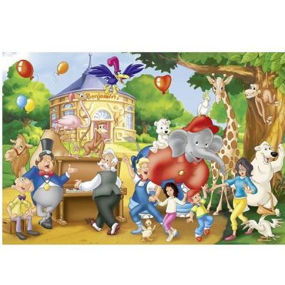 Benjamin Blumchen Zoofest Puzzle Online Kaufen Faire Preise