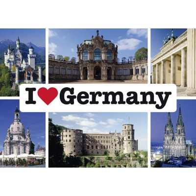 Feens Country Living : I love Germany - 1000 Teile Querformat Puzzle - Schmidt ...