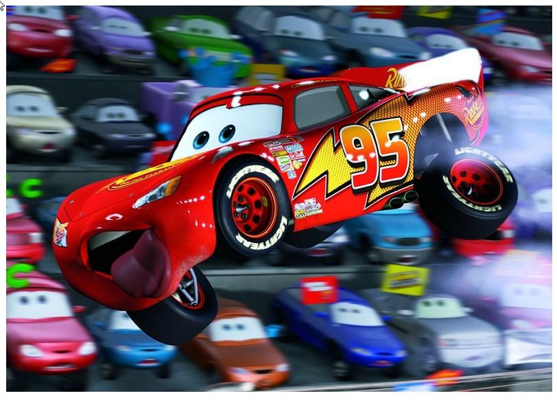 Puzzle 100 Teile XXL - Cars: Autos Autos !