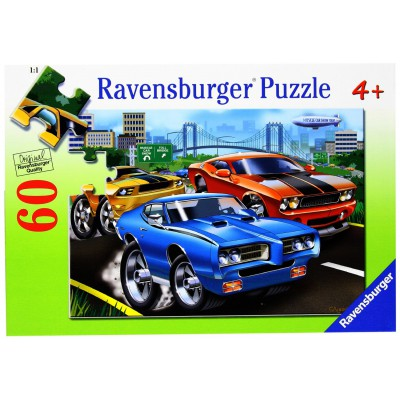 muscle car 60 teile ravensburger puzzle online kaufen. Black Bedroom Furniture Sets. Home Design Ideas