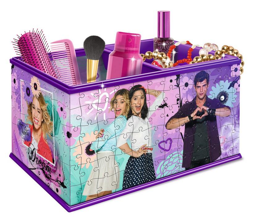 3D Puzzle - Girly Girls Edition - Aufbewahrungs...