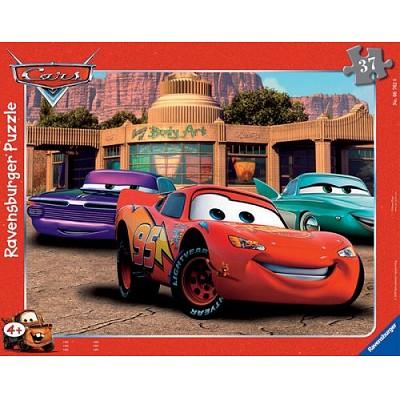 Puzzle 37 Teile Rahmenpuzzle - Cars: Autofreund...