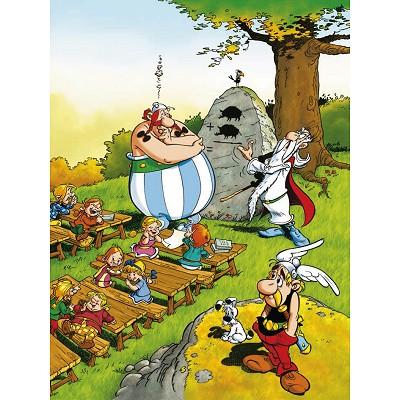 asterix und obelix obelix in der schule 100 teile ravensburger puzzle online kaufen. Black Bedroom Furniture Sets. Home Design Ideas