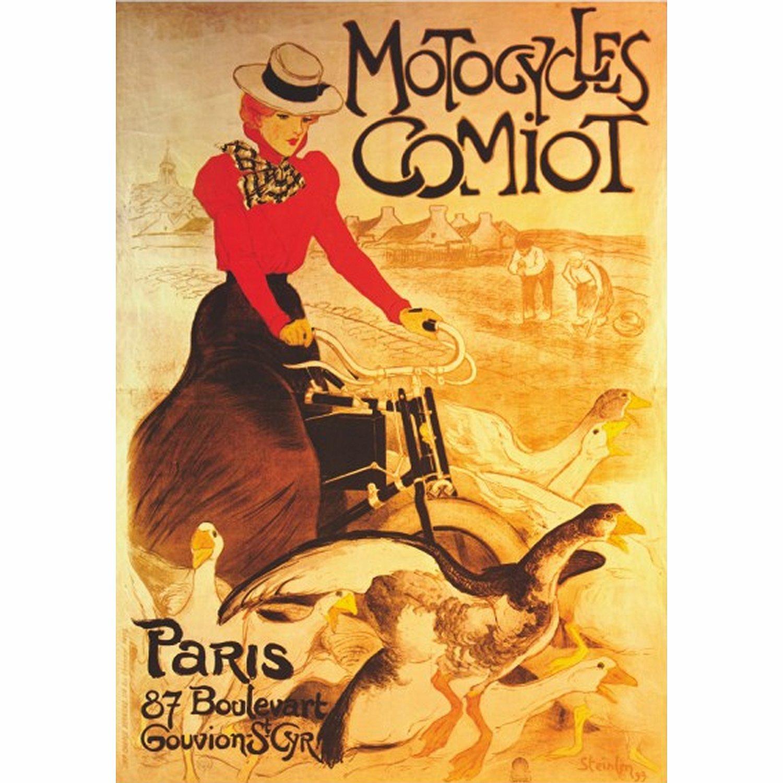 Poster - Retro: Motocycles Comiot