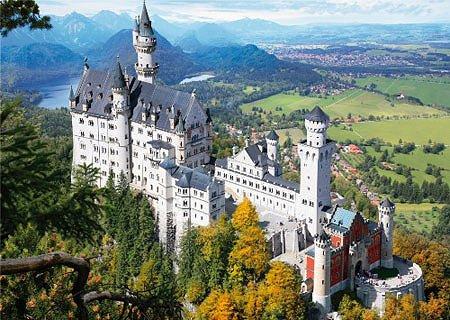 Miniatur-Puzzle Schloss Neuschwanstein 1000 Teile